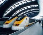 Eurostar, train à grande vitesse
