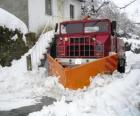 Chasse-neige font leur travail