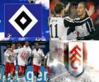 Ligue Europa, demi-finale de 2009-10, le Hamburger SV - FC Fulham