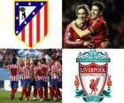 Ligue Europa, demi-finale de 2009-10, Atlético de Madrid - Liverpool FC