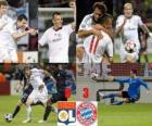 Olympique Lyonnais 0 - Bayerrn Munchen CF 3