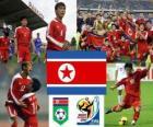 Sélection de la Corée du Nord, Groupe G, Afrique du Sud 2010