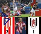 Europe finale de la Ligue 2009-10 Atletico Madrid 2 - Fulham FC 1
