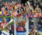 Atletico Madrid Champion, 2009-10 Ligue Europa