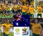 Choix de l'Australie, le Groupe D, 2010 Afrique du Sud