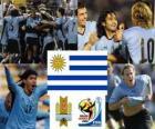 Sélection de l'Uruguay, le Groupe A, Afrique du Sud 2010