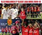 Mallorca RCD BBVA cinquième Ligue annonces 2009-2010