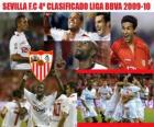 Sevilla CF 4 BBVA Ligue annonces 2009-2010