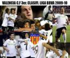 3ème FC Valence. BBVA Ligue annonces 2009-2010