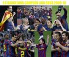FC Barcelone champion de la ligue BBVA 2009-2010