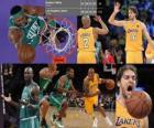 Finales NBA 2009-10, Game 1, les Boston Celtics 89 - Los Angeles Lakers 102