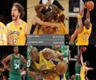 Finales NBA 2009-10, Game 7, les Boston Celtics 79 - Los Angeles Lakers 83