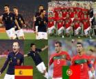 Espagne - Portugal, huitième de finale, Afrique du Sud 2010