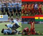 Uruguay - Ghana, quart de finale, Afrique du Sud 2010