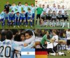 Argentine - Allemagne, quart de finale, Afrique du Sud 2010