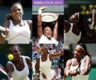 Selena Williams Champion 2010 de Wimbledon