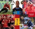 Pepe Reina (un haut-parleur humble) gardien de but de la sélection espagnole