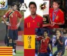 Joan Capdevila (La incombustible) défense de l'équipe nationale Espagnol