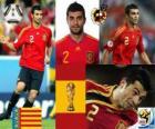 Raul Albiol (est tué par une broche), défense de l'équipe nationale Espagnol