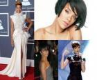 Collage de Rihanna