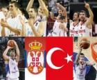 Serbie - Turquie, demi-finales 2010, la Turquie mondial de la FIBA