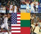États-Unis - la Lituanie, la demi-finale de 2010, la Turquie mondial de la FIBA