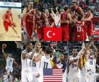 Turquie vs États-Unis, Final, Championnat du Monde 2010 de la FIBA en Turquie