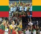 La Lituanie, 3e annonces FIBA 2010 Championnat du Monde en Turquie