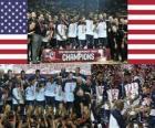 Etats-Unis champions du monde 2010 de la FIBA, la Turquie