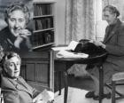 Agatha Christie (1890 - 1976) était un écrivain britannique de romans policiers.