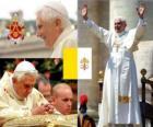 Benoît XVI, Joseph Ratzinger est le Pape Alois 265 e de l'Eglise catholique.