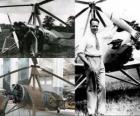 Juan de la Cierva y Codorniu (1895 - 1936) a inventé l'autogire, ancêtre de l'unité d'hélicoptères d'aujourd'hui.