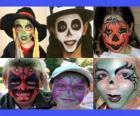 maquillage pour enfants pour l'Halloween