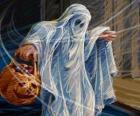 Un fantôme d'Halloween