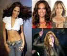 Jennifer Lopez est une actrice, chanteuse, danseuse designer de mode, et des États-Unis