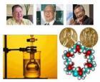 Prix Nobel de chimie 2010 - Richard Heck, Eiichi Negishi et Suzuki Akira -