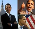 Barack Obama le premier président noir occuper le poste des États-Unis d'Amérique
