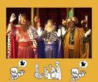Les Rois Mages, Gaspard, Melchior et Balthazar