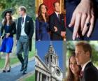 Engagement du Prince William d'Angleterre à Catherine Middleton