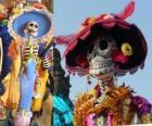 Le crâne Catrina l';un des plus populaires du Jour des Morts au Mexique