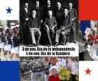 Fêtes nationales du Panama. 3 novembre, Jour de l'Indépendance. 4 novembre, Jour du Drapeau,
