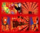 Le Fête des lanternes c'est la fin des célébrations du Nouvel An chinois. Belles lanternes vénitiennes ou lampions en papier