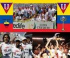 Liga Deportiva Universitaria de Quito Champion 2010 (ÉQUATEUR)