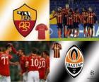 Ligue des Champions - UEFA Champions League huitième de finale de 2010-11, AS Roma - Shakhtar Donetsk