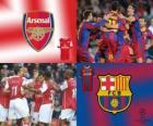 Ligue des Champions - UEFA Champions League huitième de finale de 2010-11, Arsenal FC - FC Barcelona