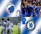 Ligue des Champions - UEFA Champions League huitième de finale de 2010-11, FC Copenhague - Chelsea FC