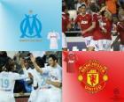 Ligue des Champions - UEFA Champions League huitième de finale de 2010-11, Olympique de Marseille - Manchester United