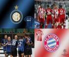 Ligue des Champions - UEFA Champions League huitième de finale de 2010-11, FC Bayern Munchen - FC Internazionale Milano