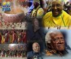 Prix du Président de la FIFA en 2010 pour l'archevêque Desmond Tutu