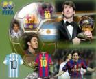 Lionel Messi Golden Ball FIFA 2010